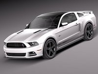 3ds max mustang gt 2013 sport