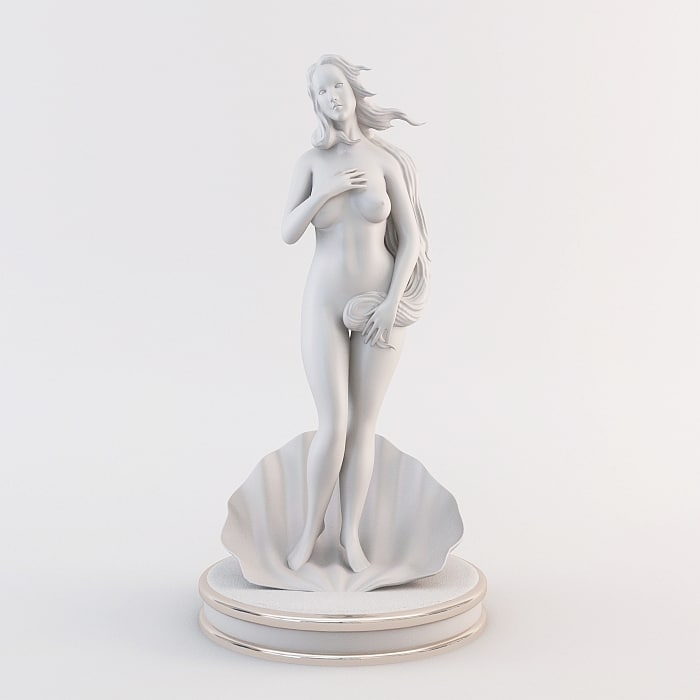 3d birth venus model
