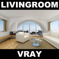 max interior livingroom sofa