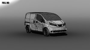 3ds max nissan nv200
