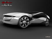 max alfa romeo pandion concept car