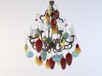 tredici chandelier 1315 bf obj