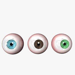 realistic eyeball eyes max free