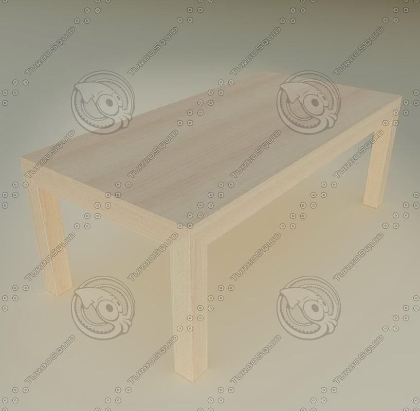 kitchen living table 01 3d dxf