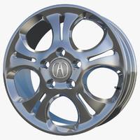 wheel rim sport 3d c4d