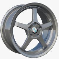 3d wheel rim 5 sport model