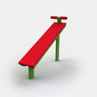 Outdoor Exercise Bench
