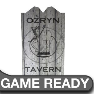 wooden tavern sign ma free