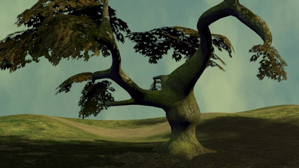 maple tree 3d max