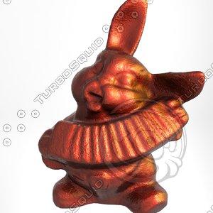 ceramic bunny 3d model