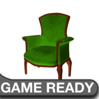 victorian chair green ma