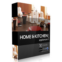 3d model volume 20 home kitchen appliances