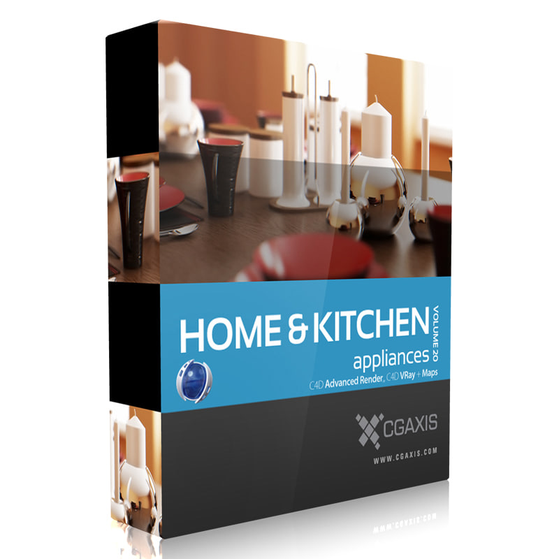 3d volume 20 home kitchen appliances