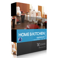CGAxis Models Volume 20 Home & Kitchen Appliances C4D