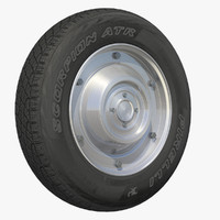 wheel motor scooter rim