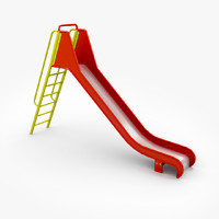 Big Slide With Ladder