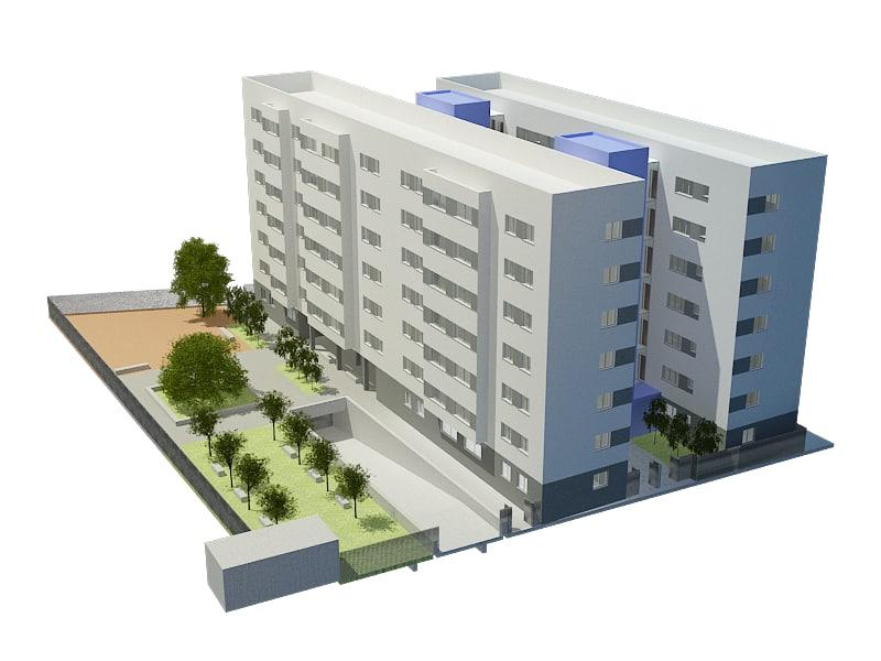 3d model housing