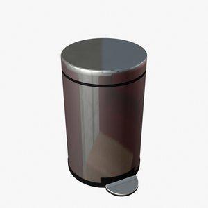 3d model of trash