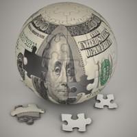 Dollar Puzzle Sphere