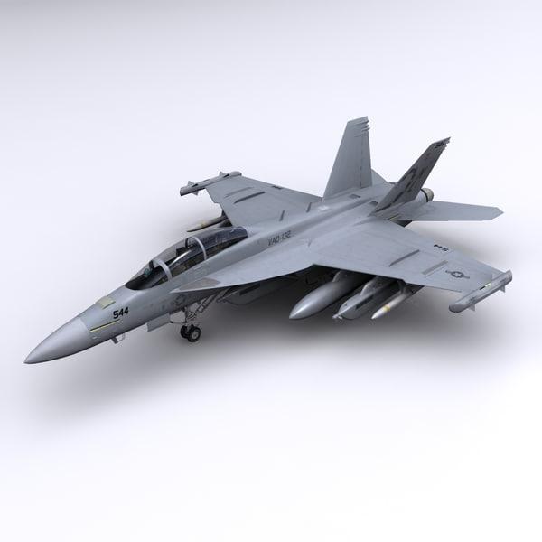 3ds super hornet fighter ea-18g