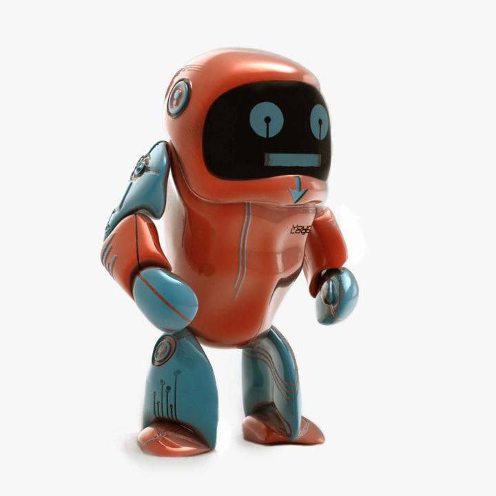 max robot modeled