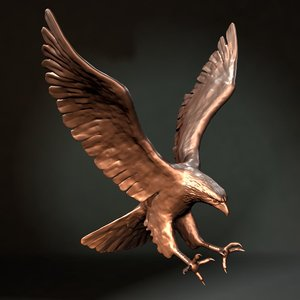 eagle statue x