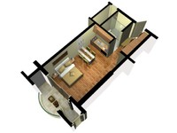 3D Floor Plan Doll House View 02