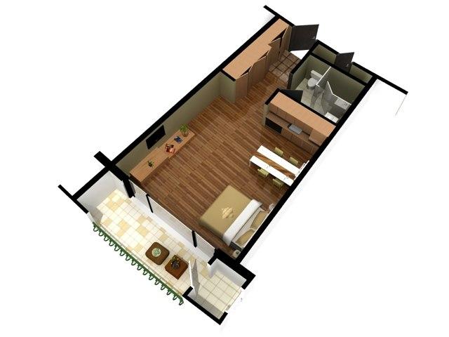 floor plan doll house s