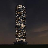3dsmax new skyscraper 40 night