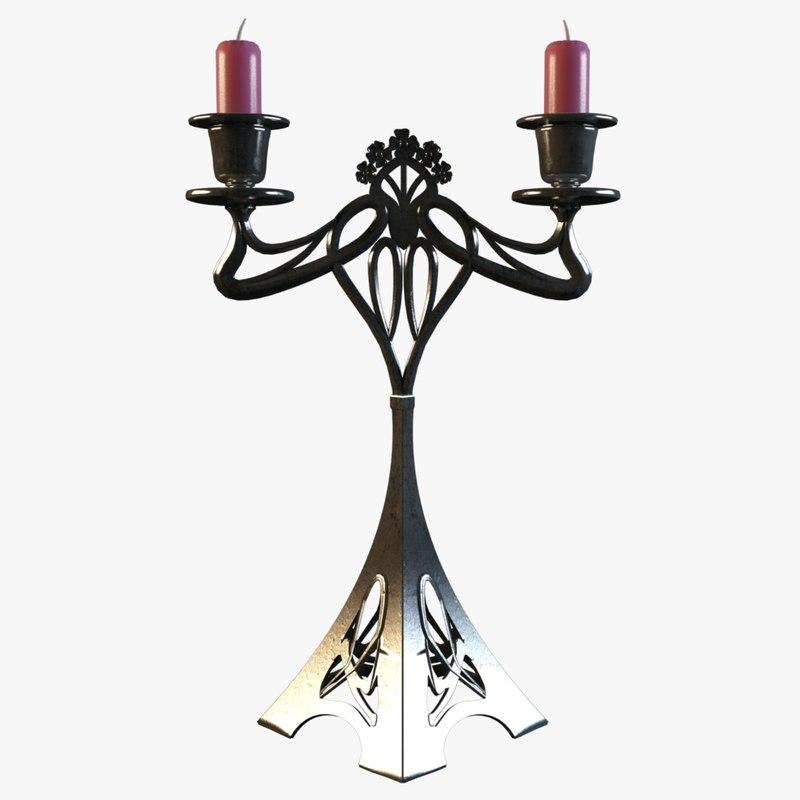 obj candel modern