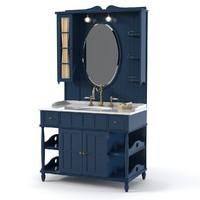 Eurodesign Green&Roses Bathroom Furniture