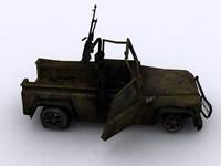 3d model car defender