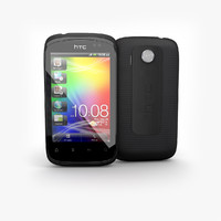3d htc explorer black known model