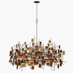 chandelier lam lee 3d model