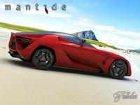 Bertone Mantide concept