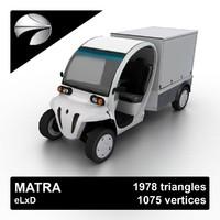 3d matra elxd model