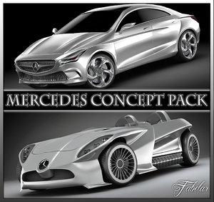 3d mercedes concept