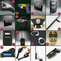 Police Equipment Collection V4
