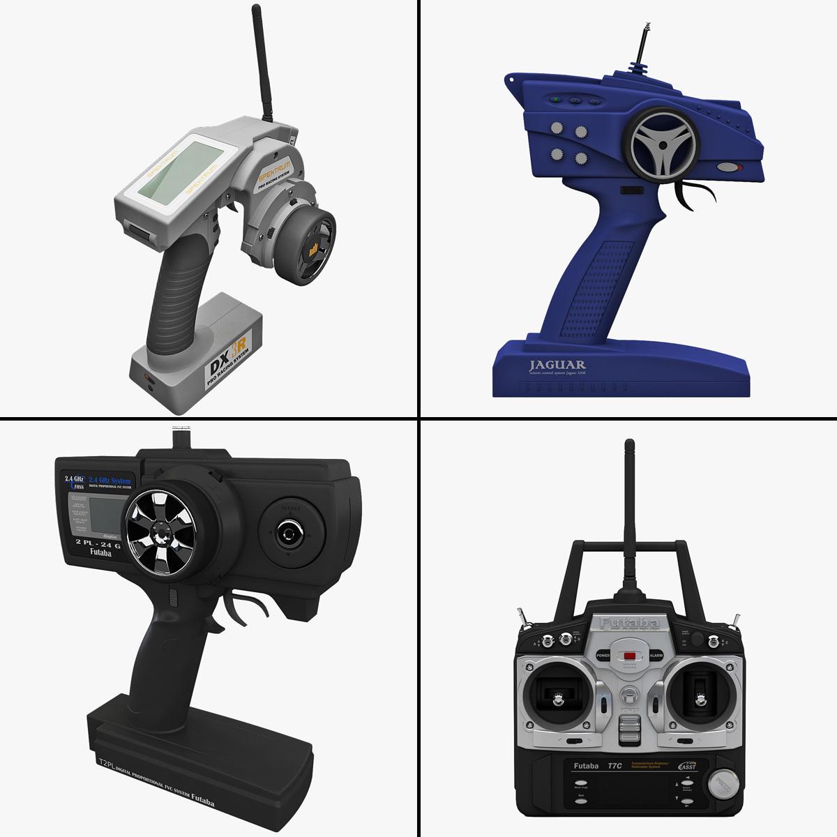 3d radio control transmitters model