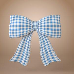 3d ribbon bow cute cartoon