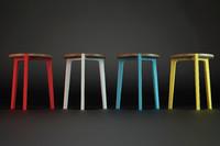 stool modelled 3d model