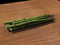 obj asparagus vegetable