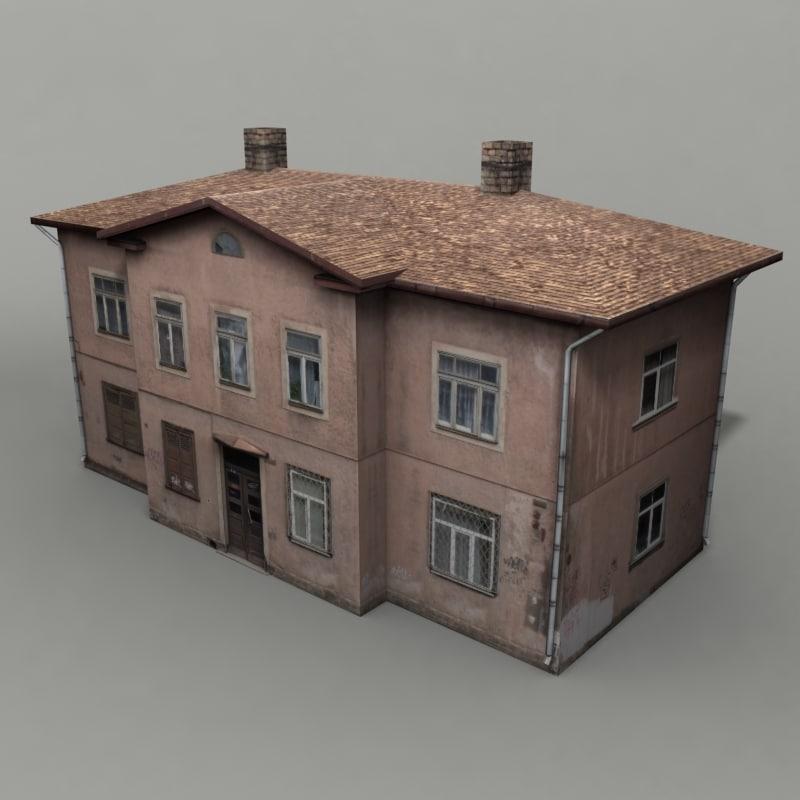 3ds apartment building