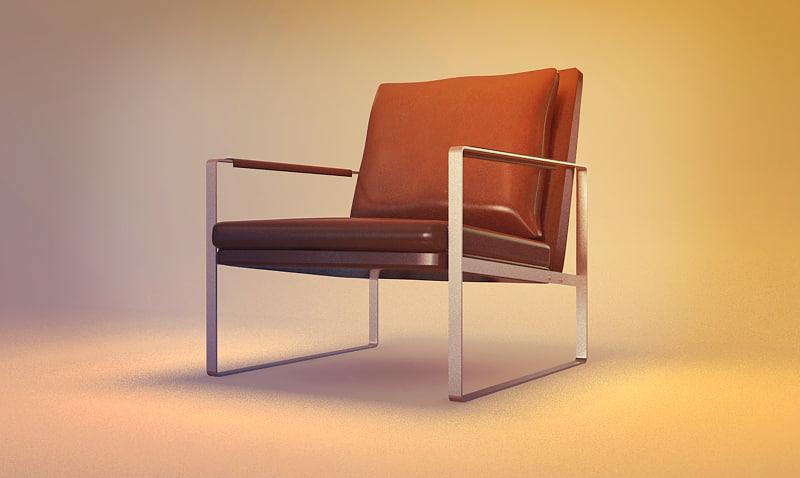 3d model modern berger. Black Bedroom Furniture Sets. Home Design Ideas