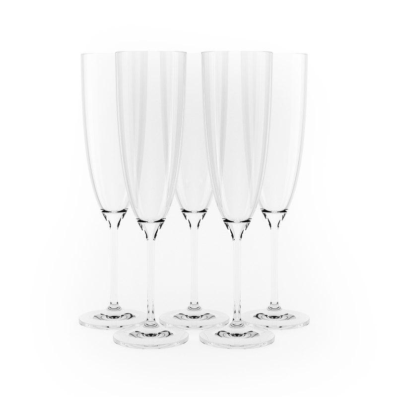glass champagne max