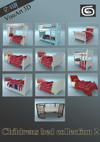 Childrens bed collection 2