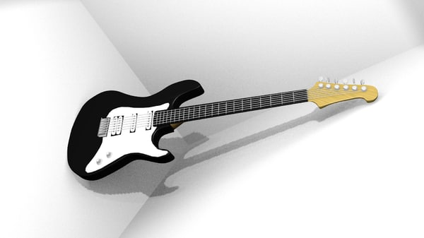 blender guitar electric