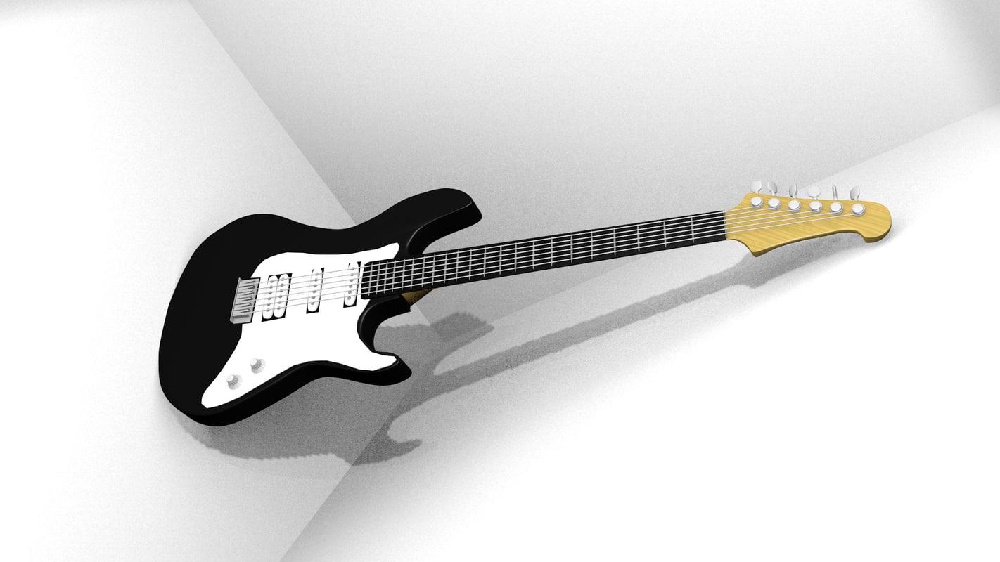 blender guitar electric