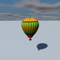 3ds hot air balloon