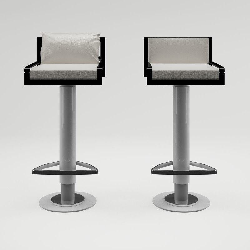 leather bar stool max